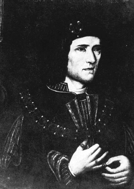 A painting depicts Richard III. Researchers announced Monday that remains discovered last summer are those of the English king.