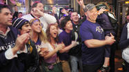 Harford Ravens fans celebrate nail-biting, Super Bowl XLVII victory