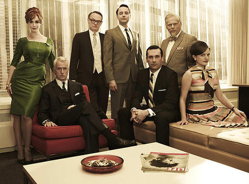 "Period dramas like ""Mad Men,"" which captures the style of the 1960s, have also become staples on television."