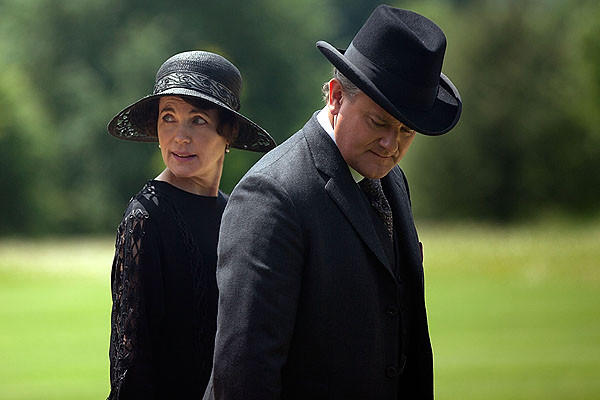 "Period dramas on television include ""Downton Abbey,"" which re-creates life on a turn-of-the-century English estate."
