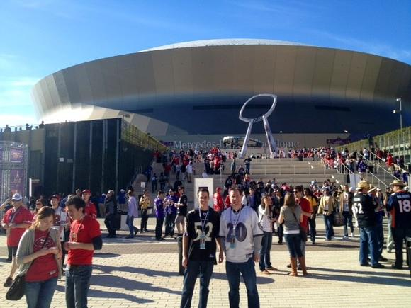 outside superdome