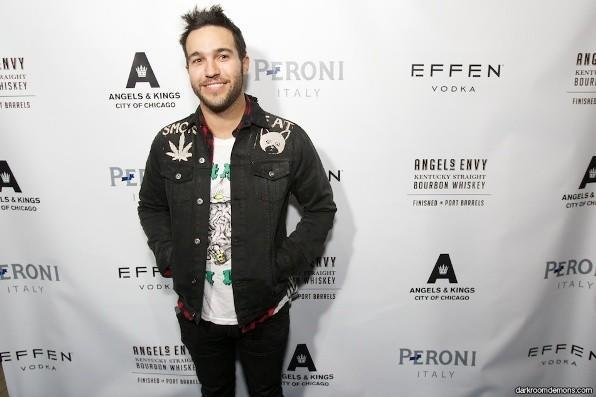 Pete Wentz attends the two-year anniversary party of Angels & Kings in the Hard Rock Hotel Feb. 2, 2013.