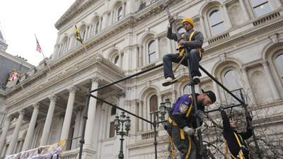 Baltimore Ravens Super Bowl victory parade set for Tuesday