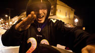 Fans celebrate Ravens Super Bowl win in Northern Baltimore [Pictures]