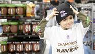 Ravens fans flock to sporting goods store after Super Bowl win