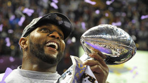 The Ravens won this Super Bowl for Baltimore, for all of us