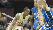 TALLAHASSEE -- Florida State may have lost yet another ugly contest Saturday when it fell by 19 at home to Duke, but the Seminoles did learn something somewhat promising about themselves. Guard Aaron Thomas seems to be taking over in just the way coaches and teammates have been long projecting.