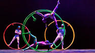 "The director of Golden Dragon Acrobats brings a new Chinese acrobatic show called ""Cirque Ziva"" to the College of Lake County on Friday, Feb. 22. The show begins at 7:30 p.m. in the Mainstage Theatre of the James Lumber Center for the Performing Arts."