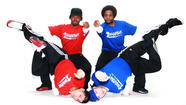 The four male street dancers of the Soul Street Dance Company (pictured), from Houston, Texas, play up their poppin' and lockin' skills to the music of, um, Count Basie, Elvis Presley, the Tempatations, Aerosmith and Michael Jackson? The show's about energy, style and discussion, as the fellas demonstrate various moves and their origins, from Brazilian Capoeira to NYC breakdancing and contemporary hip-hop moves. The troupe of formerly at-risk young men dates back to 1996, when they were an amateur Houston street crew mixing it up on the streets. There's also a master dance workshop on Feb. 8 (call (860) 527-3205 for info about that).