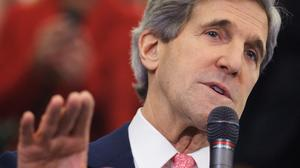 John Kerry begins work as secretary of State