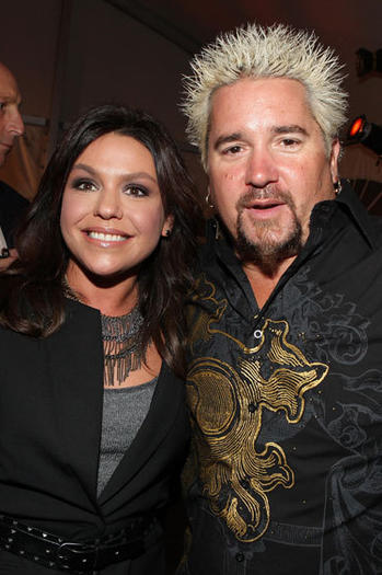 Rachael Ray and Guy Fieri