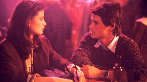 "What do you get when you cross 1986 Rob Lowe with Demi Moore's original nose? The quintessential 20-something Chicago love story. Watching love bloom from a one-night stand between two beautiful people who met at a shady neighborhood bar is something we can all relate to. It's especially fun to watch as the couple moves in together too fast and has to deal with disapproving friends, uncomfortable break ups with f-buddies and not really knowing what they want at 24. Add on all the ""I KNOW WHERE THAT IS!"" moments throughout the film and did I mention that 1986 Rob Lowe is really, really hot? -- Jessica Cantarelli"