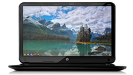 Hewlett-Packard is officially introducing its first Chromebook laptop, a $329.99 machine with a larger screen than any other Google-powered computer on the market.