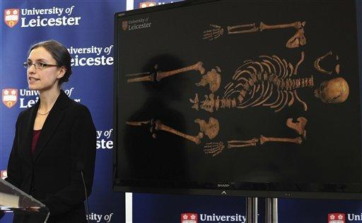 Richard III's remains found