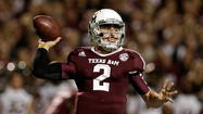 Texas A&M quarterback Johnny Manziel is the early favorite to win the 2013 Heisman Trophy according to bookmaker Bovada.lv.