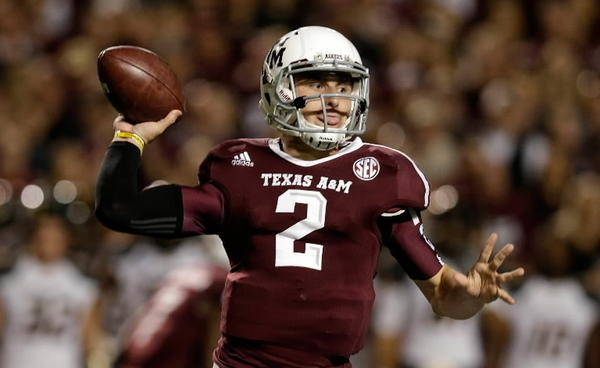 Texas A&M quarterback Johnny Manziel is the early odds on favorite to win the Heisman Trophy in 2013 according to odds maker Bovada.lv.