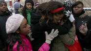 Students lead march in honor of Hadiya Pendleton