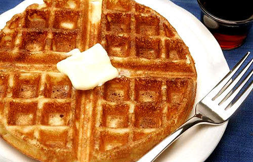 Jacqueline Kennedy's waffles.