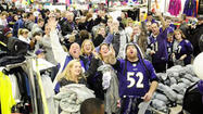 VIDEO Ravens fans in Bel Air celebrate Super Bowl