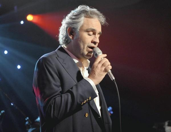Andrea Bocelli will perform Friday, Feb. 8, at the BB&T Center in Sunrise.