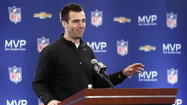Joe Flacco on David Letterman tonight talking Super Bowl