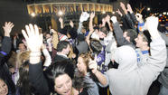 Despite crowd of hundreds, Towson police report no arrests during Super Bowl celebration