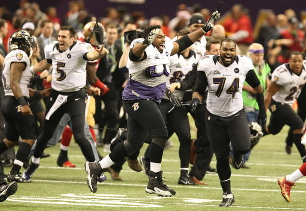 Ravens celebrate Super Bowl victory Sunday