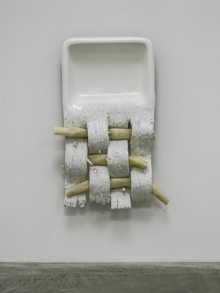 "Robert Gober's ""Untitled,"" 2012, with plaster, beeswax, human hair, epoxy putty and enamel paint."