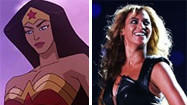 </b>Photos:</b> Beyonce's Super Bowl performance a Wonder Woman tryout?