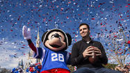 Flacco goes to Disney World [Pictures]