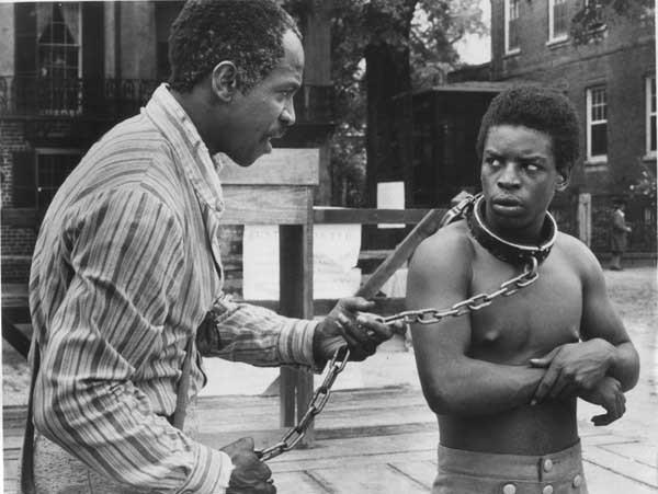 """ROOTS"" is one of the miniseries featured in the season finale of ""Pioneers of Television"" at 8 p.m. on KOCE. With Louis Gossett Jr., left, and LeVar Burton."