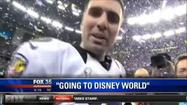 Baltimore Ravens Joe Flacco at Disney World