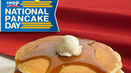 IHOP gives away free pancakes for charity Tuesday