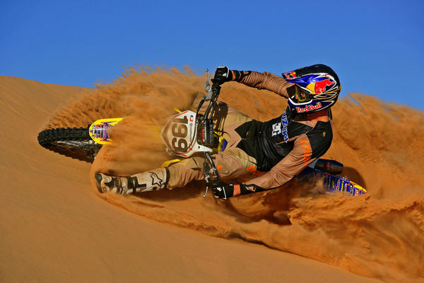 Motocross freestyler Travis Pastrana.
