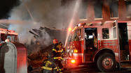 5 firefighters injured in 4-alarm Pennsylvania Avenue fire