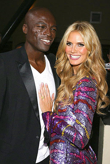 Who wasn't shocked and saddened by the split of this often thought of happy celebrity couple? Dang! Heidi confirmed in January 2012 she was leaving Seal.