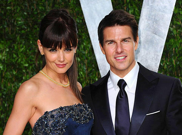 Six years after marrying Tom Cruise, Katie Holmes decides to leave Cruise and simply focus on daughter, career, and being normal. She filed for divorce in June 2012.  Their (very quick by Hollywood standards) divorce was finalized on October of the same year.
