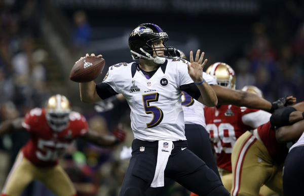 The Ravens are Super Bowl champions thanks to Joe Flacco's poise.