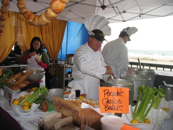 "This cook-off on the Santa Cruz Boardwalk rewards those who make a mean clam chowder, Boston (creamy) or Manhattan (brothy) style. Competitors are known to come dressed up as scuba divers, mermaids or the Clam Fairy. And $9 gets you free samples of five chowders and a chance to vote for a People's Choice winner. Proceeds benefit the city's parks department. Info: <a href=""http://beachboardwalk.com/clamchowder/""_blank"">Santa Cruz Clam Chowder Cook-Off & Festival,</a> (831) 420-5273"