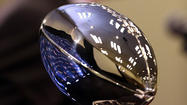 The coveted Vince Lombardi trophy made by Tiffany and Co. and worth more than $25,000 is safe and sound in the Ravens' possession back in Baltimore.
