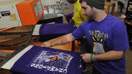 As soon as the confetti dropped in New Orleans, Fred Fillah launched production of thousands of T-shirts adorned with a smiling Ray Lewis standing amid that confetti shower.