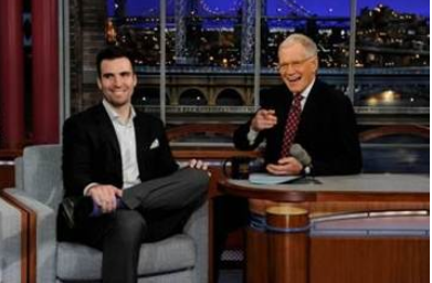 Joe Flacco on David Letterman Monday