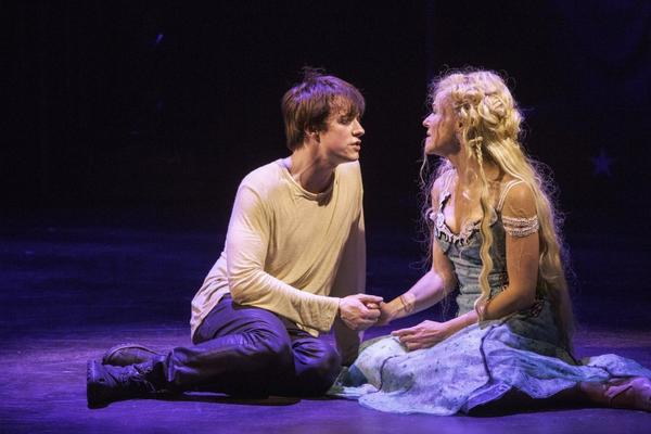 "Matthew James Thomas portrays the lead role and Rachel Bay Jones is Catherine in a production of ""Pippin"" at the American Repertory Theater in Cambridge, Mass."