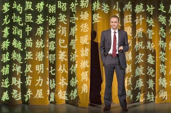 "Alex Moggridge stars in South Coast Repertory's production of ""Chinglish."""