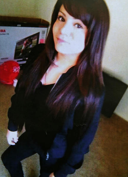 Abigail Villalpando, 18, was found dead in a wooded area near Montgomery, Ill., Sunday, Feb 3, 2013, about two days after her car was found engulfed in flames under a bridge in Aurora.