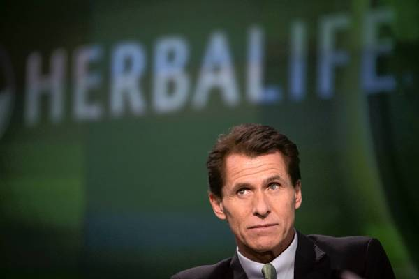 """For a direct selling company of our size, we have had a relatively low number of complaints to the FTC,"" Herbalife said in a statement Monday after the agency released more than 100 complaints about the L.A. company. Above, Herbalife President Desmond ""Des"" Walsh."