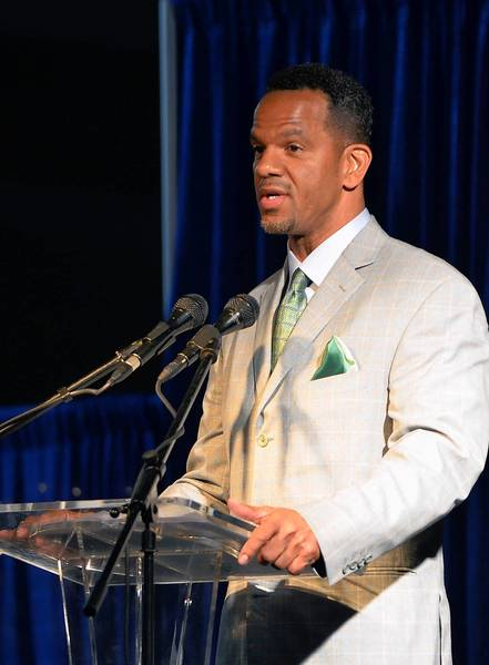 Allentown native Andre Reed, was inducted into the Lehigh County Hall of Fame recently. Many are hoping he will be inducted into the Pro Football Hall of Fame in the future.
