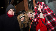 Fall Out Boy fans brave the cold at Subterranean
