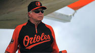 Orioles manager Buck Showalter leaves for spring training today, a week before pitchers and catchers report to Sarasota, Fla., on Feb. 12. Expect everything to be set up exactly to Showalter's liking by that date. He ignores no detail, especially when it comes to the team's spring training set up.