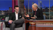 VIDEO Joe Flacco on the David Letterman Show